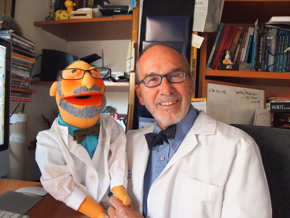 Meet Professor Jose Caceres and his Muppet