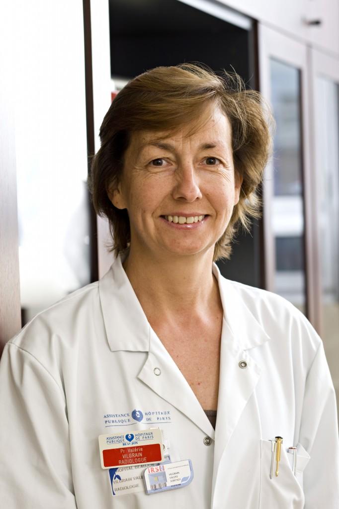 Professor Valérie Vilgrain from the University Beaujon Hospital, Clichy, France.